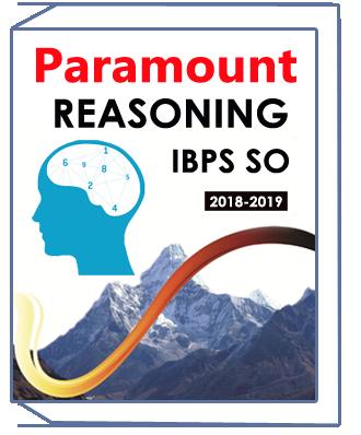 Reasoning Printed Notes for IBPS SO Paramount