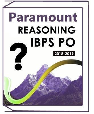 Reasoning Printed Notes for IBPS PO Clerk Paramount