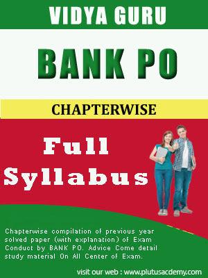 BANK PO full Syllabus Vidya Guru
