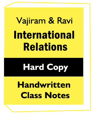 Vajiram International Relations Mains