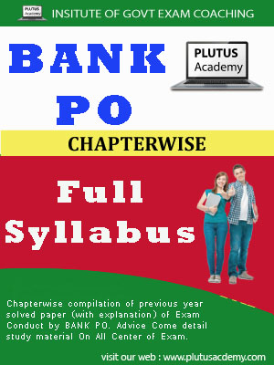 Bank PO (Pre-Mains) full syllabus & Exam Pattern