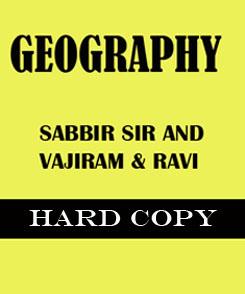 Geopraphy optional notes