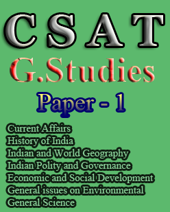 CSAT Books for General Studies paper 1