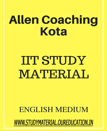 ALLEN-Best Study Material for IIT JEE Main+Advanced