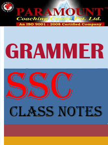GRAMMER CLASS NOTES PARAMOUNT