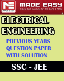 ELECTRICAL ENGINEERING SSC JEE PREVIOUS YEARS QUESTION
