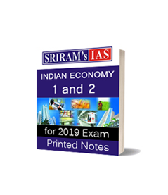 SRIRAM'S IAS -INDIAN ECONOMY-1 and 2