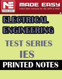 ELECTRICAL ENGINEERING TEST SERIES IES MADE EASY