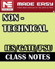 NON TECHNICAL 8 Subject Combined CLASS NOTES MADE EASY