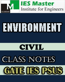 Environment Class Notes IES Master