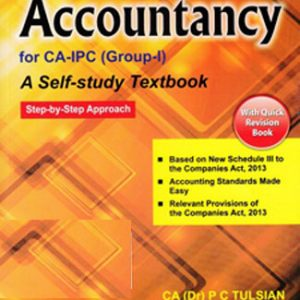 Accountancy for CA IPC Group I Tulsian