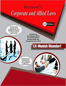 Corporate and Allied Laws Book by Munish Bhandari