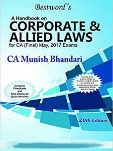 CORPORATE & ALLIED LAWS for CA