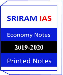 SRIRAM IAS – General Studies – Indian Economy is the printed study