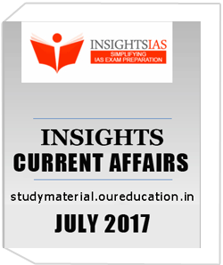Insight Monthly Current Affairs July 2017
