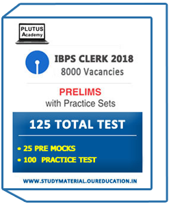 Plutus Academy IBPS CLERK 125 TEST SERIES