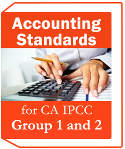 Accounting standards for CA IPCC Group 1 and 2