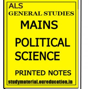 Political Science Mains Notes