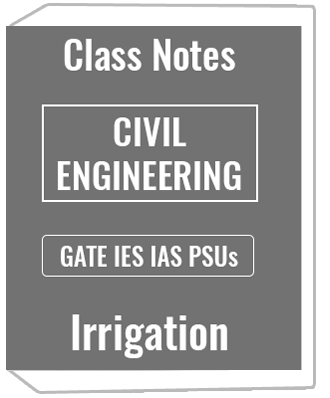 Civil Engineering- Irrigation