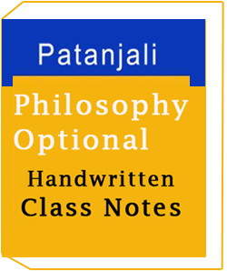 Philosophy Optional - Class Notes by Patanjali