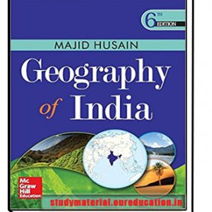 Geography of India (Old edition) by Majid Husain