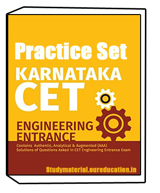 Practice Set for KCET Exam