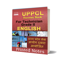 Printed Notes of UPPCL for Technician-II (English)
