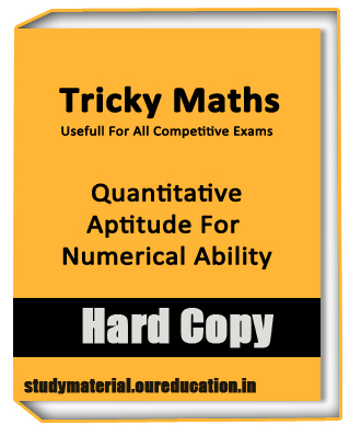 Quantitative Aptitude For Numerical Ability