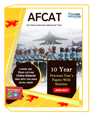 AFCAT 10 Year Previous Papers with Solution (2008-2017)