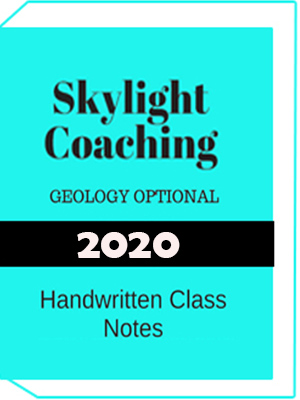 Geology Optional Handwritten Notes Skylight Coaching Notes