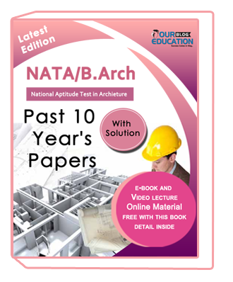 Crack NATA Exam : Past 10 Year NATA/B.Arch Solved Papers