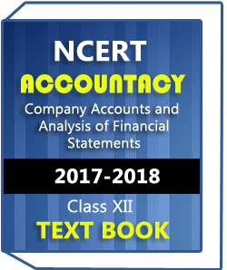 NCERT Class XII Accountancy(Company Accounts and Analysis of Financial Statements) Text Book
