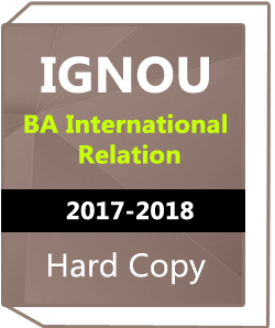 IGNOU- BA International Relation -2018