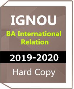 IGNOU- BA International Relation -2019