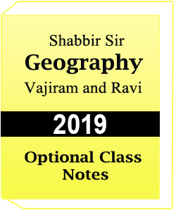 Geography Optional Class Notes