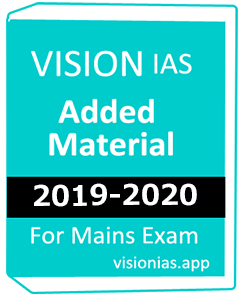 VISION Value Added Material For Mains-2019