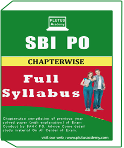 SBI PO Syllabus Pattern Book