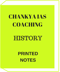 Chankya IAS Coaching History Optional Printed Notes