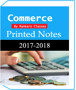 Printed Notes of Commerce and Accounting Optional-Rankers Coaching