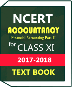NCERT Class XI Accountancy(Financial Accounting Part II) Text Book