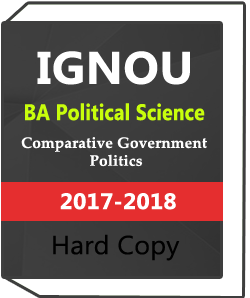 IGNOU Comparative Government Politics BA Political Science