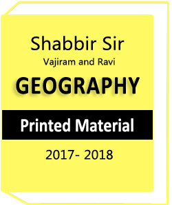 Sabbir Sir Vajiram and Ravi Geography Optional Notes