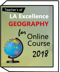 LA- EXCELLENCE -ONLINE- COURSE Geography - Optional