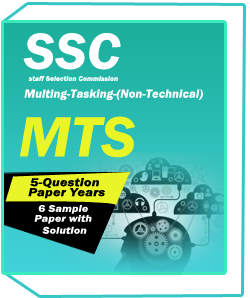 SSC MTS-Multing-Tasking-(Non-Technical)-5-Question Paper Years and 6Sample Paper with solution