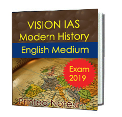 Printed Notes for Vision IAS