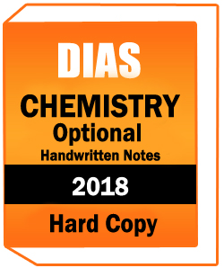 DIAS Coaching CHEMISTRY Optional handwritten Notes