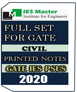 PRINTED NOTES GATE IES PSUs IES MASTER