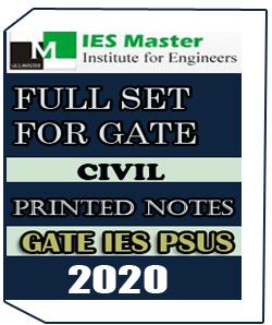 PRINTED NOTES GATE IES PSUs IES MASTER