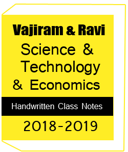 Printed Notes of Vajiram Science Technology and Economy Class Notes