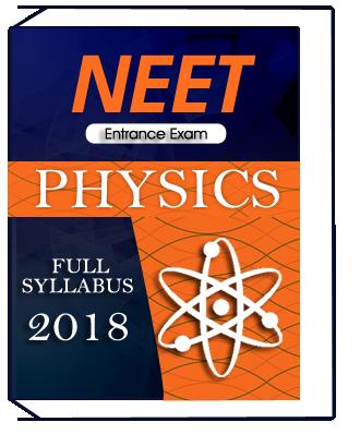Physics Full Syllabus For NEET Entrance Exam